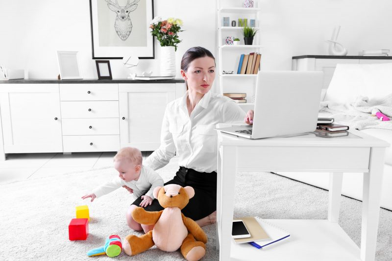 When you work from home, distraction is all around you. Check out tips for dealing with distractions and how to be more focused at work and at home as a parent.