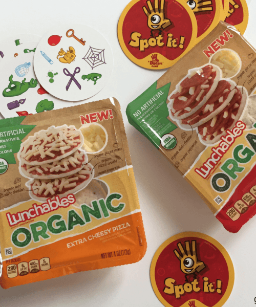 #ad | LUNCHABLES Organics helps me get more work done at home.