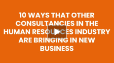 10 Tips for Human Resources Consultancies