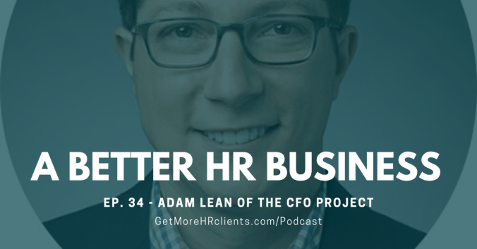 A Better HR Business Cover - Adam Lean of The CFO Project