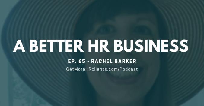 A Better HR Business - Rachel Barker