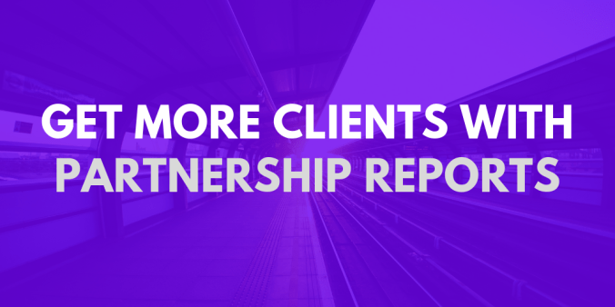 Get more HR clients with partnership reports