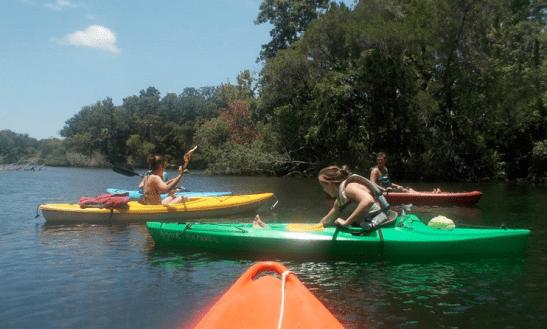 Kayaking Amp Kayak Rentals Near Homosassa