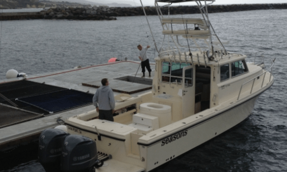 California Fishing Charter On 41 Feet Parker 3420 XLD