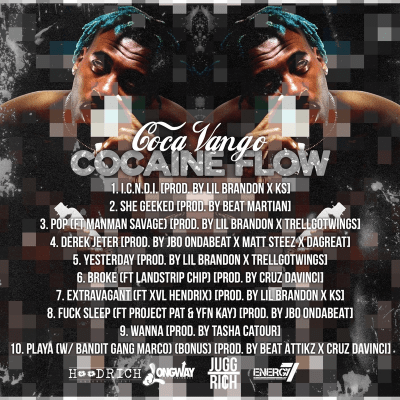 """Coca Vango – """"Cocaine Flow"""" #CocaineFlow [Mixtape]"""