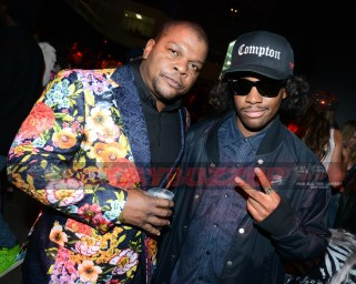 Kehinde Wiley, Ricky Jackson - BACARDÍ x Kenzo Digital Present 'We Are The Night' BACARDÍ x Kenzo Digital Kick-off Halloween Weekend with Epic Haunted House Experience, 'We Are The Night' Special Performances by Mark Ronson, Swizz Beatz and appearances by Emily Ratajkowski, Alicia Keys, Baz Luhrmann and more