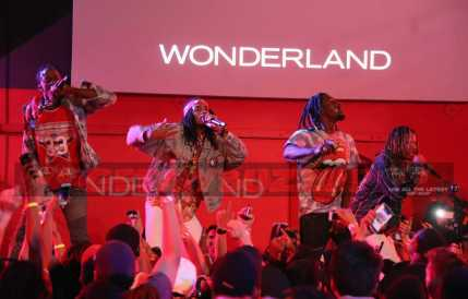 """performs onstage at MTV's """"Wonderland"""" LIVE Show on November 10, 2016 in Los Angeles, California."""