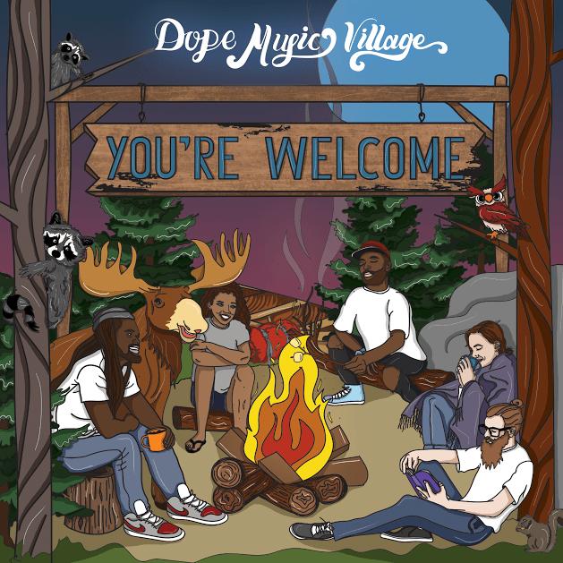 "EP Stream: Dope Music Village (Brain Rapp, Nature Boi, Ezko) - ""You're Welcome"" [Audio]"