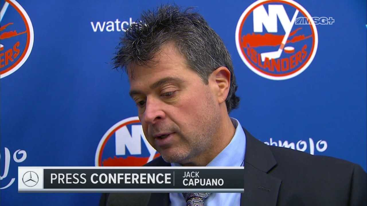 Capuano's Assessment of Isles' Shootout Win in Anaheim