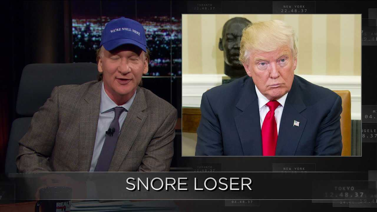Web Exclusive New Rule: Snore Loser   Real Time with Bill Maher (HBO)