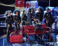 TARAJI'S WHITE HOT HOLIDAYS: October London performs at TARAJI'S WHITE HOT HOLIDAYS airing Thursday, Dec. 8 (8:00-9:00 PM ET/PT) on FOX. ©2016 Fox Broadcasting Co. CR: Frank Micelotta/FOX