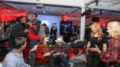 PARK CITY, UT - JANUARY 21: Guests enjoy the 'Mudbound' party in the Stella Artois Filmmaker Lounge during the Sundance Film Festival on January 21, 2017 in Park City, Utah. (Photo by Rick Kern/Getty Images for Stella Artois)
