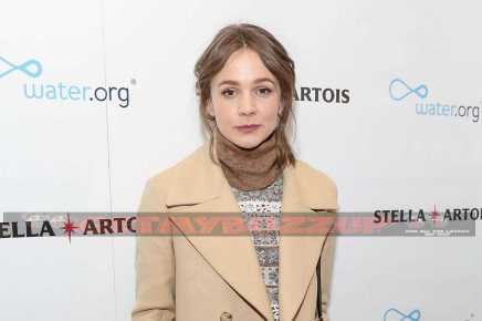 PARK CITY, UT - JANUARY 21: Carey Mulligan at the 'Mudbound' party in the Stella Artois Filmmaker Lounge during the Sundance Film Festival on January 21, 2017 in Park City, Utah. (Photo by Rick Kern/Getty Images for Stella Artois)