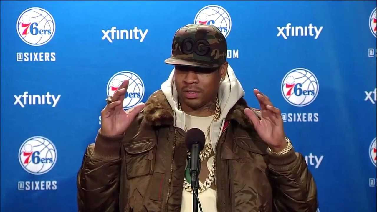 Allen Iverson On Being Inducted into Naismith Basketball Hall of Fame (2016)