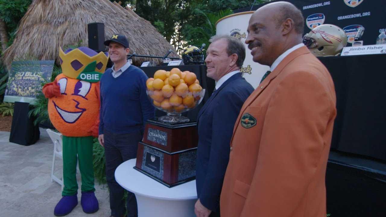 Orange Bowl Press Conference   A SEASON WITH FLORIDA STATE FOOTBALL