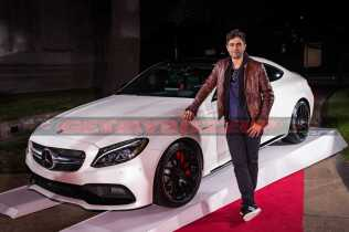 Adrian Grenier stepping out of the Mercedes-Benz GLS at the Rolling Stone Live Houston party leading up to The Big Game on Saturday, February 4, 2017 in Houston, TX.