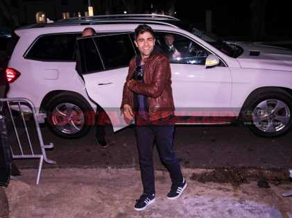 Adrian Grenier stepping out of the Mercedes-Benz GLS at the Rolling Stone Live Houston party leading up to The Big Game on Saturday, February 4, 2017 in Houston, TX. (Photo courtesy of MBUSA)