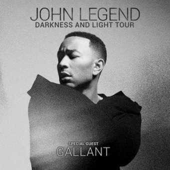 John Legend Announces Darkness And Light Tour