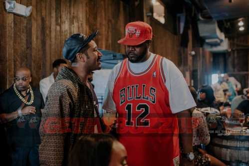 CELEB SIGHTINGS: FABOLOUS, WALE, MANNIE FRESH AND MORE ATTEND MITCHELL & NESS ANNUAL ALL STAR WEEKEND BRUNCH #ASG17 [PHOTOS]