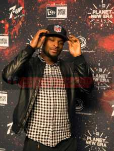 Pittsburgh Steelers running back Le'veon Bell at New Era's Super Bowl party 'Planet New Era' on Friday, Feb. 3, 2017, in Houston. (Peter Barreras/AP Images for New Era Cap)