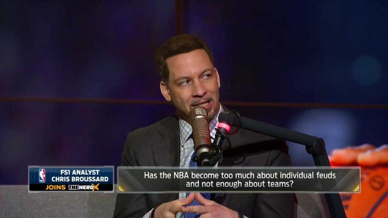 Chris Broussard: Drama is good for the NBA   THE HERD