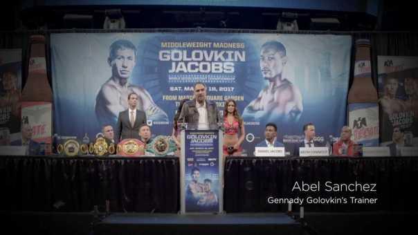 The Buzz: Golovkin vs. Jacobs Press Conference (HBO Boxing)
