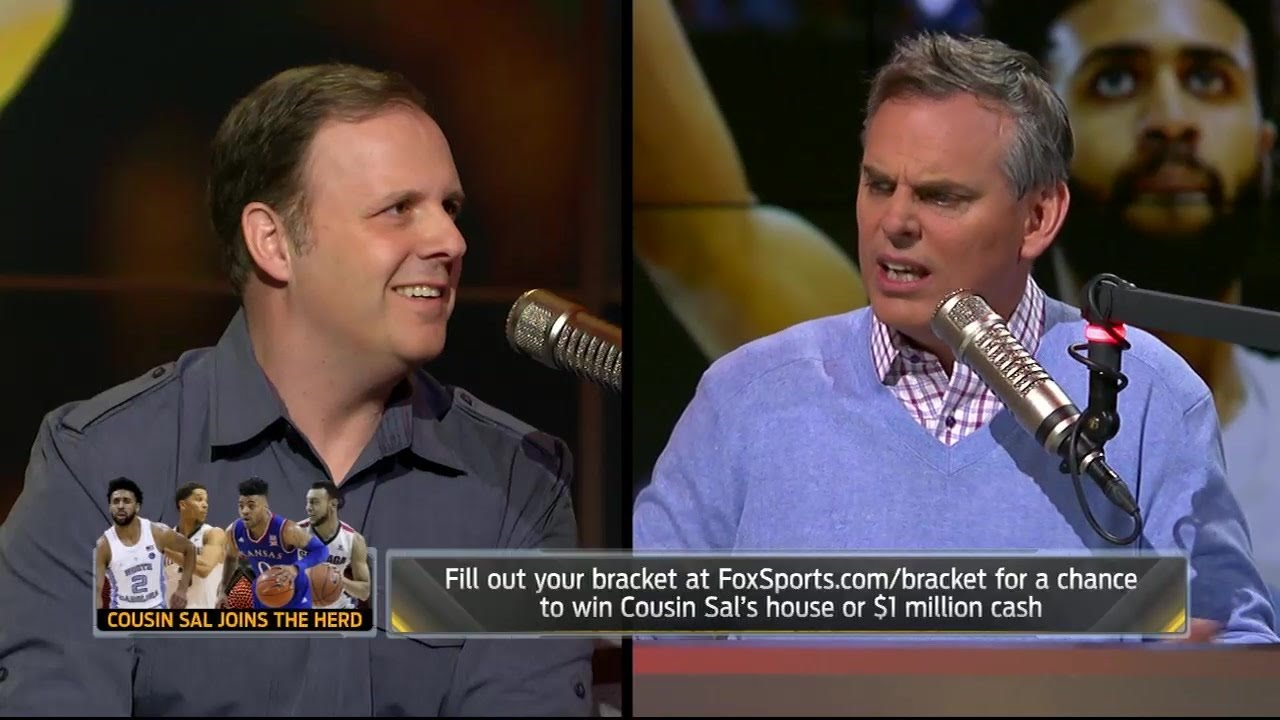 Cousin Sal joins Colin to talk 2017 NCAA Tournament | THE HERD (FULL INTERVIEW)
