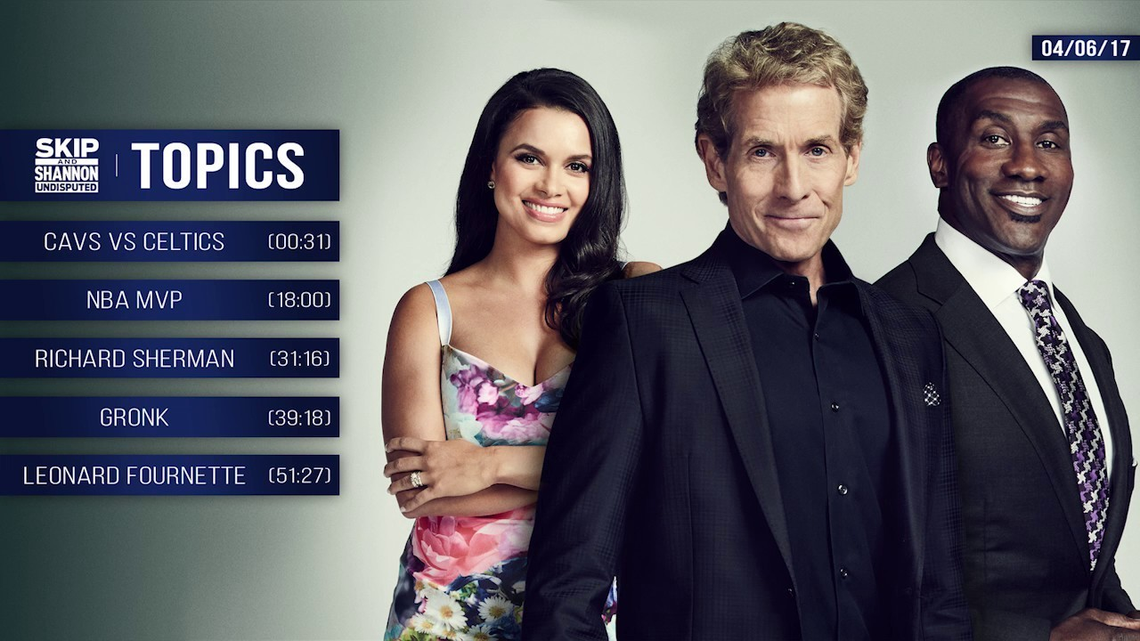 UNDISPUTED Audio Podcast (4.6.17) with Skip Bayless, Shannon Sharpe, Joy Taylor   UNDISPUTED
