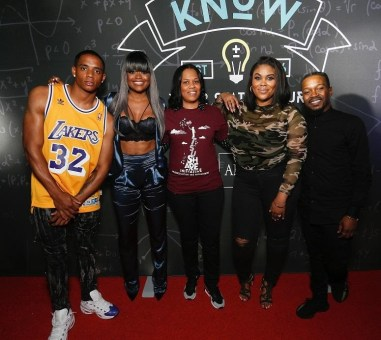 Nina Parker , Karen Civil , Don Benjamin, Amber Rose