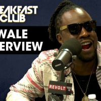 "Wale Speaks On His New Album ""Shine"",  Relationship With Meek Mill, J. Cole on The Breakfast Club [Interview]"