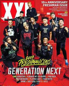XXL MAGAZINE CELEBRATES THEIR 10 YEAR FRESHMAN CLASS ANNIVERSARY