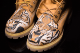 Exclusive 12″ Custom Timberland Boots