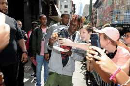 -New York, NY - 8/25/17- Yachty`s Pizzeria -PICTURED: Lil Yachty -PHOTO by: Startraksphoto.com -BDP_9260 Editorial - Rights Managed Image - Please contact www.startraksphoto.com for licensing fee Startraks Photo New York, NY For licensing please call 212-414-9464 or email sales@startraksphoto.com Image may not be published in any way that is or might be deemed defamatory, libelous, pornographic, or obscene. Please consult our sales department for any clarification or question you may have. Startraks Photo reserves the right to pursue unauthorized users of this image. If you violate our intellectual property you may be liable for actual damages, loss of income, and profits you derive from the use of this image, and where appropriate, the cost of collection and/or statutory damages.