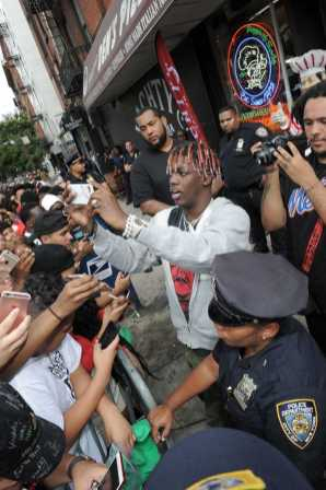 -New York, NY - 8/25/17- Yachty`s Pizzeria -PICTURED: Lil Yachty -PHOTO by: Startraksphoto.com -BDP_9316 Editorial - Rights Managed Image - Please contact www.startraksphoto.com for licensing fee Startraks Photo New York, NY For licensing please call 212-414-9464 or email sales@startraksphoto.com Image may not be published in any way that is or might be deemed defamatory, libelous, pornographic, or obscene. Please consult our sales department for any clarification or question you may have. Startraks Photo reserves the right to pursue unauthorized users of this image. If you violate our intellectual property you may be liable for actual damages, loss of income, and profits you derive from the use of this image, and where appropriate, the cost of collection and/or statutory damages.
