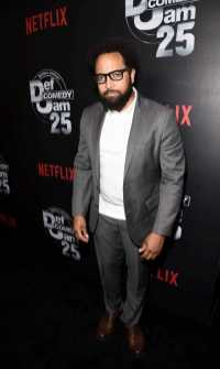 Diallo Riddle arrives at Def Comedy Jam 25, A Netflix Original Comedy Event, in Beverly Hills on Sunday September 10th.