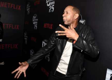 Mark Curry arrives at Def Comedy Jam 25, A Netflix Original Comedy Event, in Beverly Hills on Sunday September 10th.