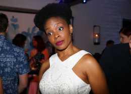 Mandatory Credit: Photo by Katie Jones/Variety/REX/Shutterstock (9064183bq) Amber Ruffin Variety and Women in Film Emmy Nominee Celebration, Inside, Los Angeles, USA - 15 Sep 2017