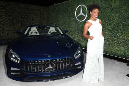 Mandatory Credit: Photo by Chelsea Lauren/Variety/REX/Shutterstock (9064185fr) Amber Ruffin Variety and Women in Film Emmy Nominee Celebration sponsored by Mercedes Benz, Los Angeles, USA - 15 Sep 2017