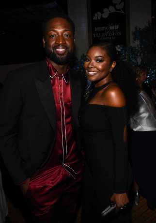 Mandatory Credit: Photo by Buckner/Variety/REX/Shutterstock (9064180bg) Dwyane Wade and Gabrielle Union Variety and Women in Film Emmy Nominee Celebration, Inside, Los Angeles, USA - 15 Sep 2017