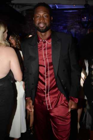 Mandatory Credit: Photo by Andreas Branch/Variety/REX/Shutterstock (9064182bi) Dwyane Wade Variety and Women in Film Emmy Nominee Celebration, Inside, Los Angeles, USA - 15 Sep 2017