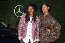 Mandatory Credit: Photo by Chelsea Lauren/Variety/REX/Shutterstock (9064185cd) Lena Waithe and Tracee Ellis Ross Variety and Women in Film Emmy Nominee Celebration sponsored by Mercedes Benz, Los Angeles, USA - 15 Sep 2017