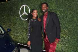 Mandatory Credit: Photo by Chelsea Lauren/Variety/REX/Shutterstock (9064185eh) Gabrielle Union and Dwyane Wade Variety and Women in Film Emmy Nominee Celebration sponsored by Mercedes Benz, Los Angeles, USA - 15 Sep 2017