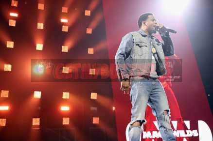 NEW YORK, NY - OCTOBER 17: Mack Wilds performs during the TIDAL X benefit concert powered by BACARDI and hosted by Fat Joe at Barclays Center of Brooklyn on October 17, 2017 in New York City. (Photo by Monica Schipper/Getty Images for BACARDI) *** Local Caption *** Mack Wilds
