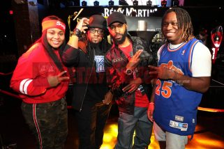 LAS VEGAS, NV - NOVEMBER 09: (L-R) Tay Svpreme, Tha Kraken, Taco Manning, and Prodig-E attend The Remy Martin Producers Series Season 4 Finale on November 9, 2017 in Las Vegas, Nevada. (Photo by Johnny Nunez/Getty Images for Remy Martin)