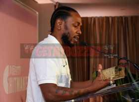 Mandatory Credit: Photo by Stewart Cook/Variety/REX/Shutterstock (9228566i) Kendrick Lamar Variety Hitmakers Brunch, Inside, Los Angeles, USA - 18 Nov 2017