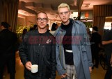 Mandatory Credit: Photo by Stewart Cook/Variety/REX/Shutterstock (9228566z) Diplo and Machine Gun Kelly Variety Hitmakers Brunch, Inside, Los Angeles, USA - 18 Nov 2017