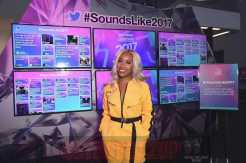 NEW YORK, NY - DECEMBER 05: Jackie Aina aka La Bronze James poses at Pandora Sounds Like You: 2017 on December 5, 2017 in New York City. (Photo by Theo Wargo/Getty Images for Pandora)