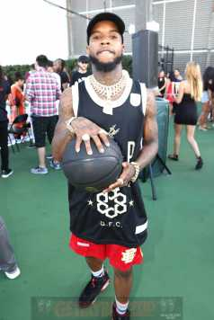 MIAMI BEACH, FL - DECEMBER 08: Rapper Tory Lanez attends The House Of Remy Martin Presents The MVP Experience In Miami at W South Beach on December 8, 2017 in Miami Beach, Florida. (Photo by Johnny Nunez/Getty Images for Remy Martin)