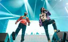 Migos Brings Out Gucci Mane During Their Performance (Credit: Sebastian Rodriguez)