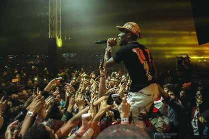 Lil Uzi Rocking the SoCal Crowd (Credit: Aaron Ricketts)